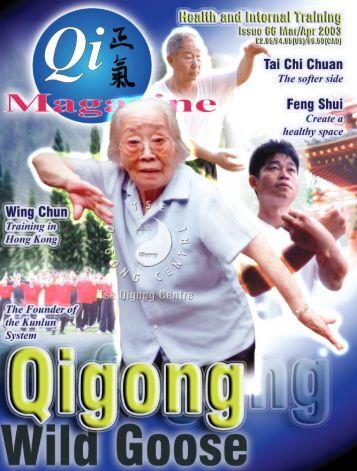 Issue 66 - Tse Qigong Centre