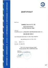 Download: DIN EN ISO 3834-2 bis 03.2016 - Kinkele GmbH & Co. KG