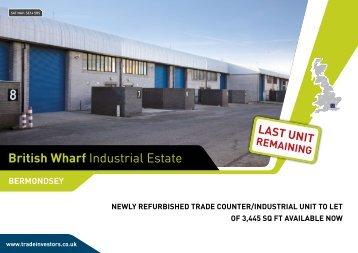 British wharf Industrial Estate - Capita Symonds