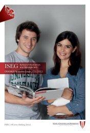 Guide - Instituto Superior de Economia e Gestão
