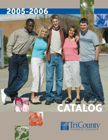 TCTC Catalog - Tri-County Technical College