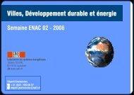 Villes, Développement durable et énergie - BPE - EPFL