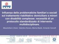 Influenza delle problematiche familiari e sociali sul trattamento ...