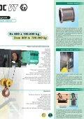 Palans électriques et composants de levage ... - IndustriasVeca - Page 5