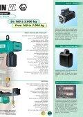 Palans électriques et composants de levage ... - IndustriasVeca - Page 7