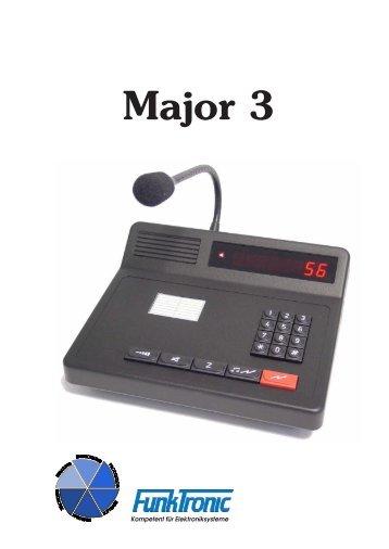 Major 3