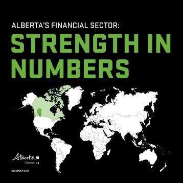 Alberta financial industry booklet - Calgary Economic Development