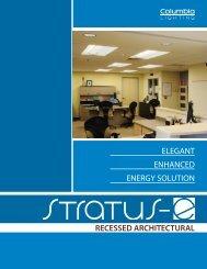 CO1055-Stratus® E-Series Recessed Architectural Brochure