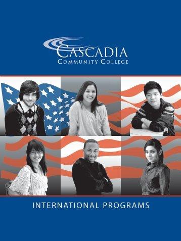 INTERNATIONAL PROGRAMS - Cascadia Community College