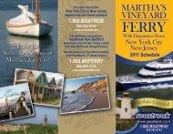 MARTHA'S VINEYARD - Seastreak