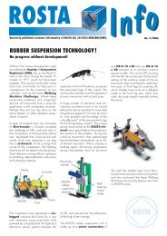 RUBBER SUSPENSION TECHNOLOGY! - ROSTA Inc.