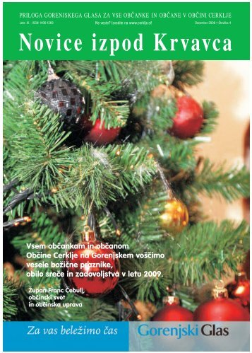 Številka 4, December 2008 - Cerklje.si