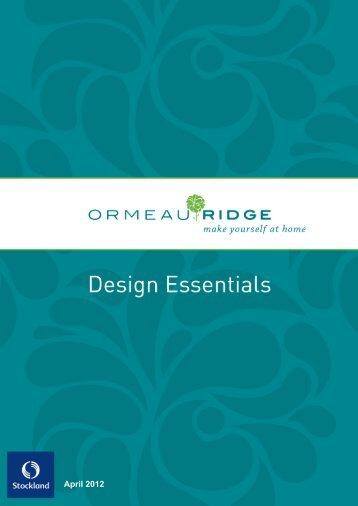 the design essentials - Stockland