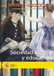 Revista completa en formato PDF 7930Kb - Revista de Educación