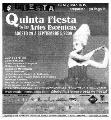 Acerca CJe la Actriz - Casa del Teatro de Medellín