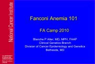 Finding - Fanconi Anemia Research Fund