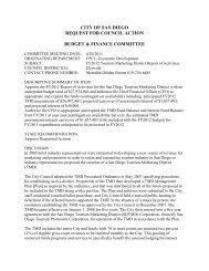 Budget & Finance Committee FY 2012 Report of Activities