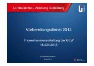 Vortrag Dr. Gabriele Kandzora - ZLH-Hamburg