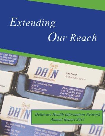 DHIN 2013 Annual Report Final - Web Version