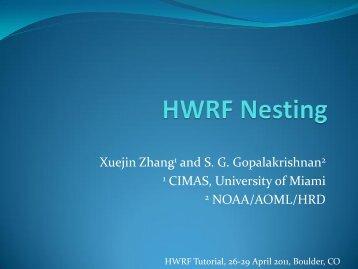 HWRF Nesting