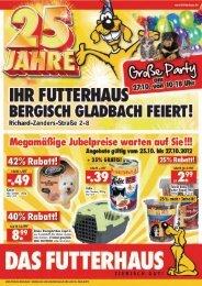 Regionaler Handzettel FH 1221 Bergisch ... - Das Futterhaus