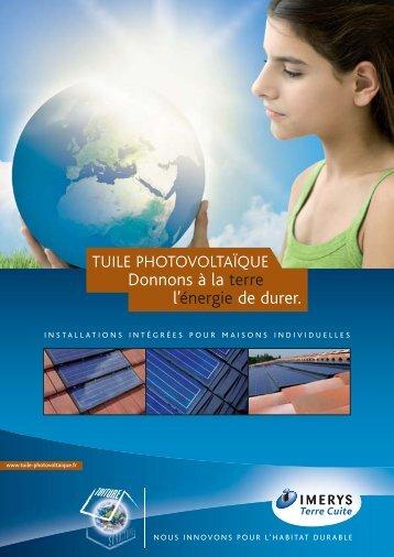 Tuile photovoltaïque - Comalec