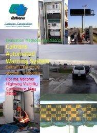 CAWS and Evaluation Sites - Cal Poly San Luis Obispo