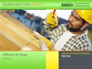 Presentation Slides - Building Energy Codes