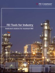 FEI Tools for Industry - FEI Company