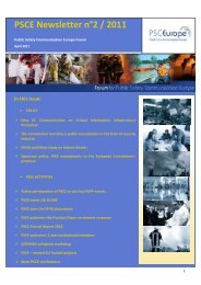 PSCE Newsletter 02-2011 - KoKom