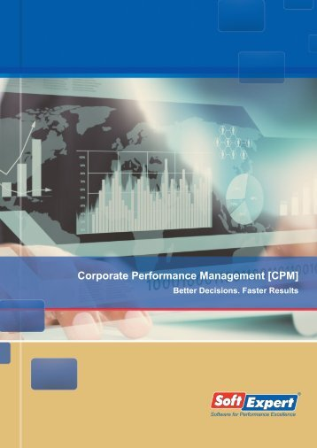 Corporate Performance Management [CPM] - SoftExpert Software