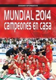 DOSSIER MUNDIAL 2014.qxp - Federacion Española de Baloncesto
