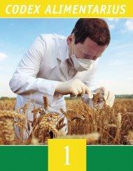 codex alimentarius - Inocuidade de Alimentos