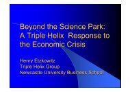 Beyond the Science Park - Manchester Business School