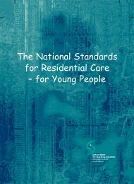 Residential Care - Young People - hiqa.ie