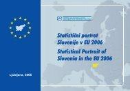 Statistični portret Slovenije v EU 2006 - Statistični urad Republike ...