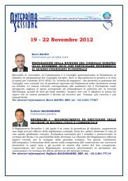 19 - 22 Novembre 2012 - Erminia Mazzoni