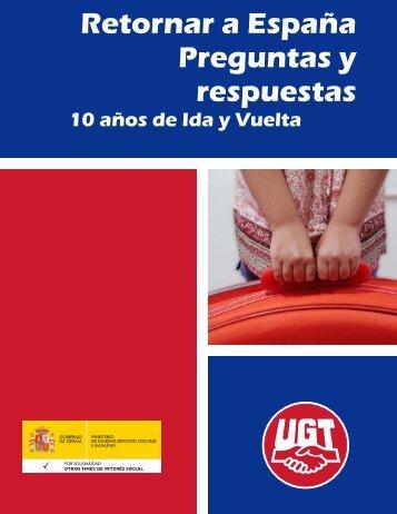 Retornar a España. Preguntas y respuestas - UGT