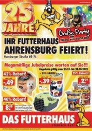 Jubiläums-Prospekt als PDF herunterladen - Das Futterhaus