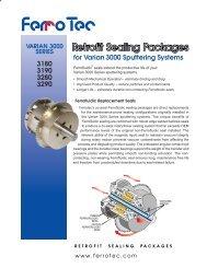 3180 3190 3280 3290 for Varian 3000 Sputtering Systems - Ferrotec