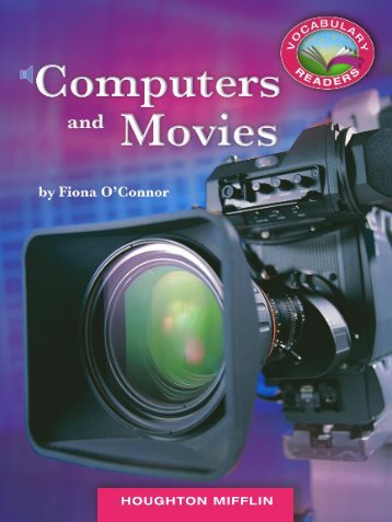 Lesson 3:Computers and Movies