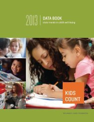 KIDS COUNT Data Book - Council on Children and Families - New ...