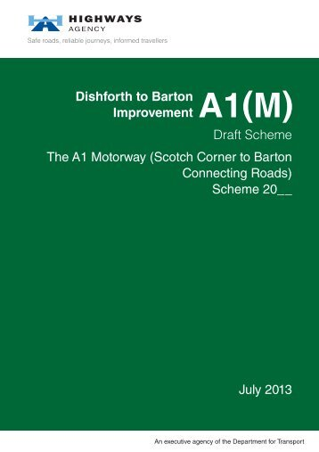 Connecting Road Order - Highways Agency