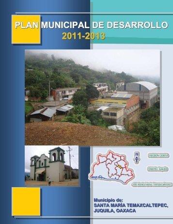PLAN MUNICIPAL DE DESARROLLO - finanzasoaxaca.go..