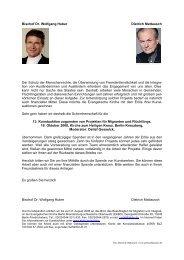 Bischof Dr. Wolfgang Huber Dietrich Mattausch Der Schutz der ...