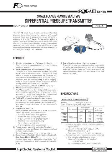 types of pressure transmitter pdf
