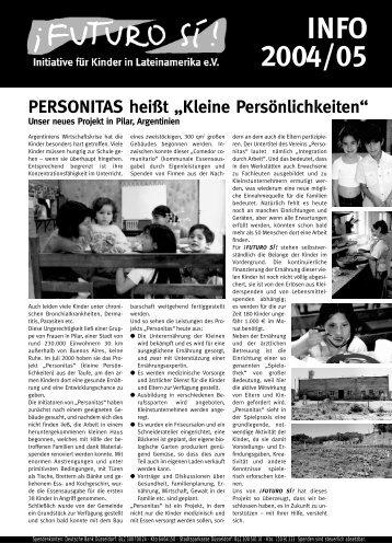 infobrief 2004/05 - Futuro Si