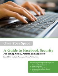 Own Your Space: A Guide to Facebook Security