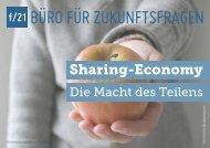 Sharing-Economy. Die Macht des Teilens - f/21