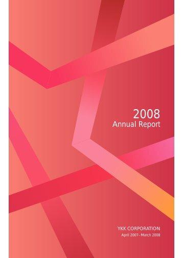 April 2007– March 2008 - YKK